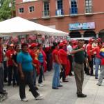 Se activo punto rojo en la Plaza Bolívar de Upata