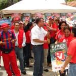Jefe de campaña  Gustavo Muñiz Rocha destacó que el pueblo de Upata se encuentra alegre con el inicio de la Campaña Electoral