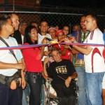 Inaugurada tercera cancha techada de usos múltiples en Piar