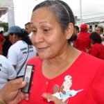 La Dra. Rosa Arévalo, Directora del Hospital de Upata.
