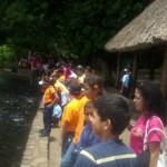 También disfrutaron en el Parque Cachamay