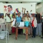 Ancianos de la Aldea Gisela Melgar reciben aporte