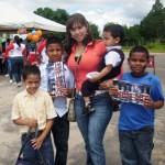 La Primera Dama Zulny Bonalde compartió con los niños de Campanario