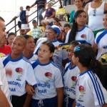 Alcalde Gustavo Muñiz y Delegación de Upata que representara al municipio piar en los juegos Judenamu