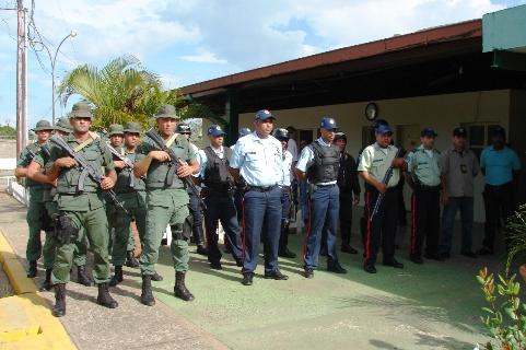 Todo listo para brindar una mayor seguridad en Piar.