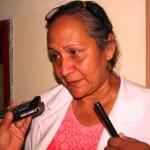 La Dra. Rosa Arévalo, Directora del Hospital Gervasio Vera Custodio.