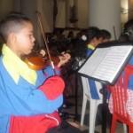 Participan 120 niños y jóvenes de la Orquesta Sinfónica de Upata