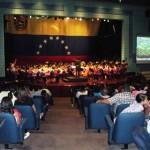 Orquesta de Upata se presentó en el Teatro de CVG Venalum
