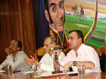 El alcalde Gustavo Muñiz presidio la Sesión del sexto Consejo Local de Planificación de Piar.