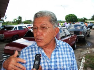 Jesús Figuera Director de Seguridad Ciudadana de la Alcaldía de Piar.