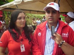 Alcalde Gustavo Muñiz.