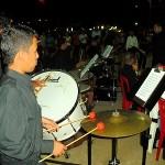 Ensamble de Percusión fue dirigido por el profesor Alexander Benavides