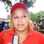 Betania Marchan, directora de desarrollo Endógeno de la Alcaldía de Piar.