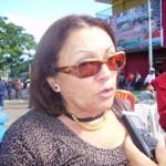 Doctora Elsy de Muñiz directora de Desarrollo Social de la Alcaldía de Piar