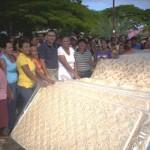Alcaldía entregó colchones a familias necesitadas