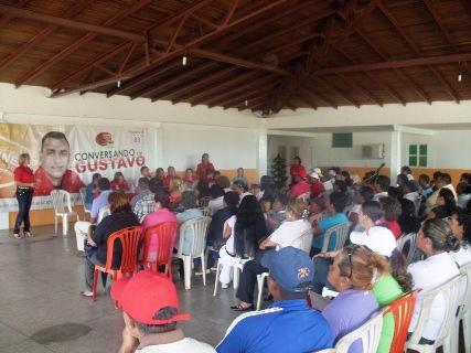 Alcaldía, Gobernación y Fundacomunal preparan proyectos con los consejos comunales