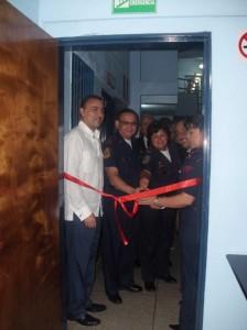 El Cuerpo de Bomberos estrena consultorio médico