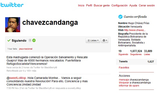 """El presidente Chávez decretó este lunes el """"Estado de Emergencia"""" en Zulia y otras entidades."""