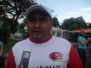 Rubén Garcías, director de Catastro de la Alcaldía  de Piar