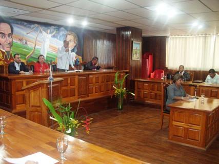 Instalada y ratificada miembros del Concejo Municipal de Piar