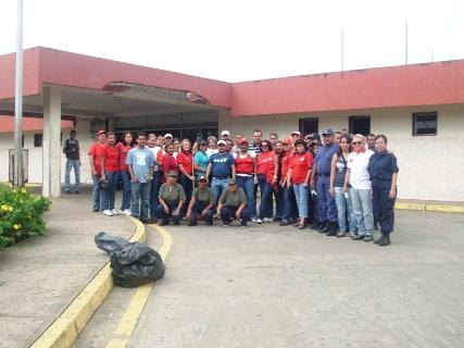 Psuvistas de Upata realizaron mantenimiento en el Hospital GVC