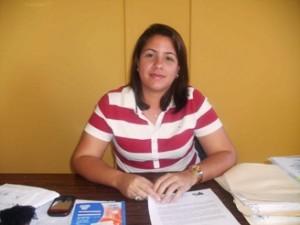"""Yliani Díaz: """"Estaremos trabajando cuatros días en El Manteco  para hacer posible las ventas de 20 terrenos organizadamente"""""""