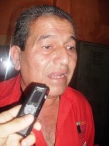 Argenis Pugas coordinador de Servicios Generales de la alcaldía de Piar.