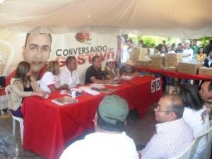 """Alcalde Muñiz: """"El consejo comunal es quien autoriza la ubicación y resguardo de terrenos"""""""