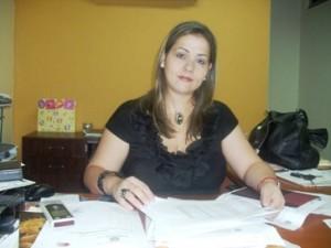 Licenciada Vanesa González directora de Administración de la Alcaldía de Piar