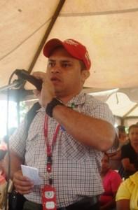 Tecnólogo Rolando Aro representante de la Misión Agro-Venezuela en Piar