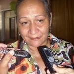 Rosa Arévalo agradeció la acción del alcalde Gustavo Muñiz