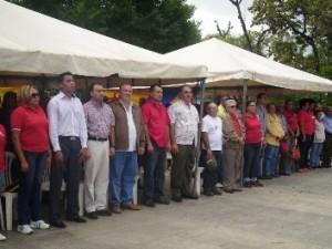 La plaza Bolívar de Upata fue escenario para conmemorar este trascendental acontecimiento histórico venezolano.