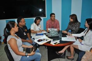 La Primera Dama Zulny Bonalde de Muñiz sostuvo un encuentro con los representantes de la Defensoría Delegada del Estado Bolívar