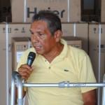 """Jesús Gómez """"tenemos un Presidente  con sensibilidad y pido más salud para él"""""""