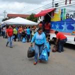 Los upatenses adquirieron productos de la cesta básica de la Misión Mercal a precios bajos.