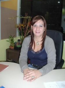 María Moreno, Directora de Hacienda de la Alcaldía de Piar
