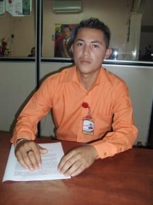 Coordinador de Gestión Micro financiera de la Alcaldía de Piar, Miguel Gómez.