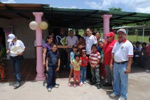 El Alcalde Muñiz   estuvo en el acto de  reinauguración de la Capilla del ánima Agustín Parasco.