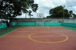 Rehabilitada Cancha en la calle Monagas